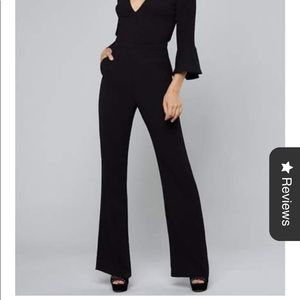 Bebe new with tags  surplice flutter bodysuit